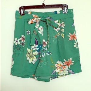 Nordstrom floral shorts